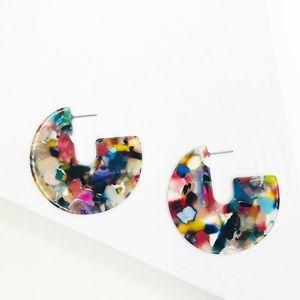 Disc Stud in Multicolor